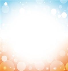 summer background abstract of sea sun beach sky vector image vector image