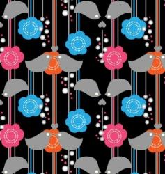 cute birdy vector image vector image