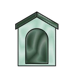 italian house icon vector image