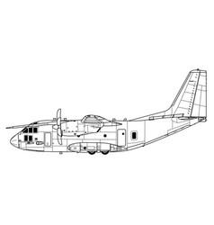 Alenia c-27 spartan vector