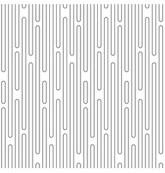 black metal grid seamless pattern vector image