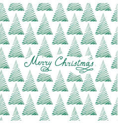 christmas greeting card winter holiday background vector image