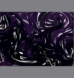 dark purple digital marbling elegant marbled vector image