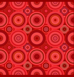 Geometric circle pattern background - repeatable vector