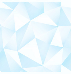 Ice color triangle pattern vector