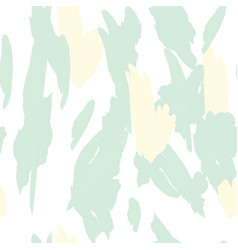military camouflage texture with trees branches vector image
