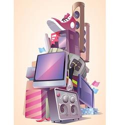 New Brand Stuff vector image