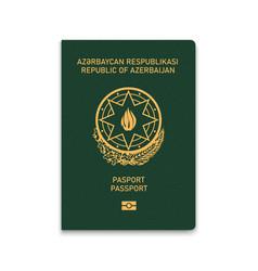 Passport azerbaijan vector