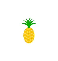 pineapple graphic design template isolated vector image