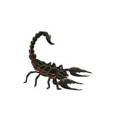 Scorpion icon insect pest control extermination vector