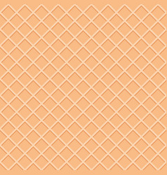 wafer seamless pattern background ice cream cone vector image
