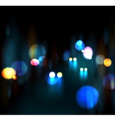 City nightlife vector