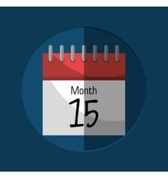 Calendar payday month vector