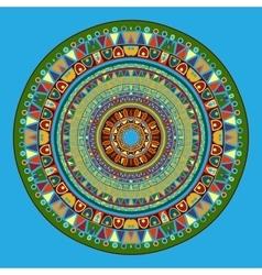 Mandala in Oriental style vector