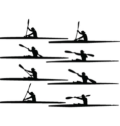 rowing collection - vector image