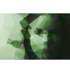 girl portrait face triangulate abstract background vector image