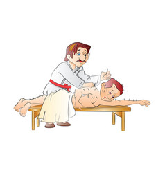 Accupuncture vector