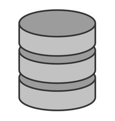 Database virtual storage vector