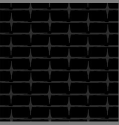 design of seamless wallpaper as a black brick wall vector image