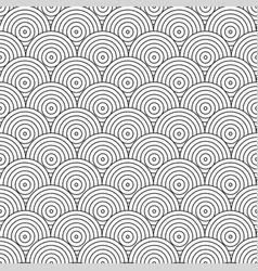 Geometric pattern tile mosaic circles vector
