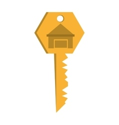 House key real estate buy vector