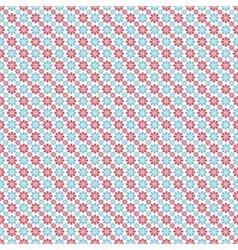 Light winter romantic pattern tiling vector image