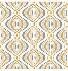 ogee seamless curved pattern abstract geometric vector image
