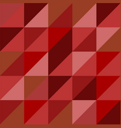 old seamless pattern abstract triangles background vector image