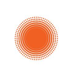 sun or light vector image