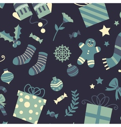The perfect christmas background pattern vector image vector image