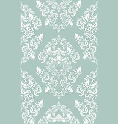 Damask floral wallpaper vector