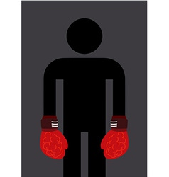 Brain Boxing vector image