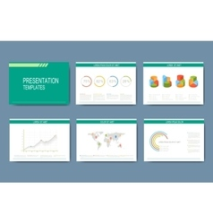 Set of infographic templates for vector image