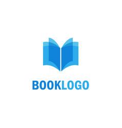 book education logo vector image