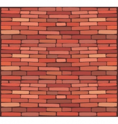 brick wall vector image