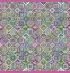Colorful abstract diagonal square mosaic tile vector