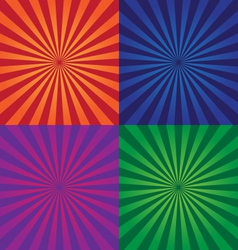 colorful background design elements vector image