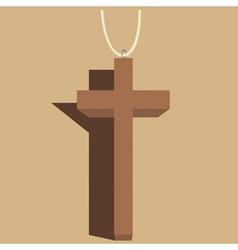 Crucifix vector