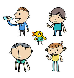 Friend Funny vector image vector image