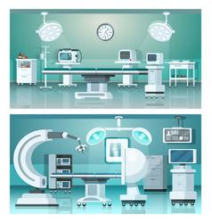 Hybrid operating isometric medicine hospital vector