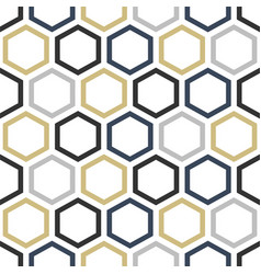 simple geometric seamless pattern stylish vector image