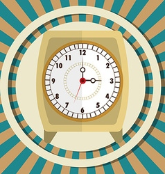 Time digital design vector
