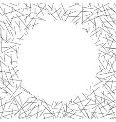 White circle lies on seamless pattern of random vector
