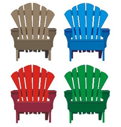 chair wooden vector image vector image