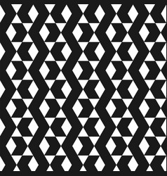 abstract black chevrons pattern background vector image