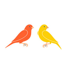 canary vector image