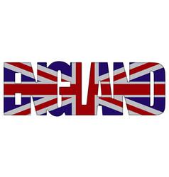 england country incscription vector image