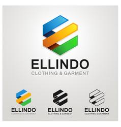 Garment logo symbol vector