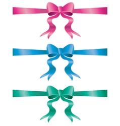 Holiday Bows Set5 vector