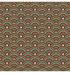 Seamless Japanese pattern Colorful decorative vector